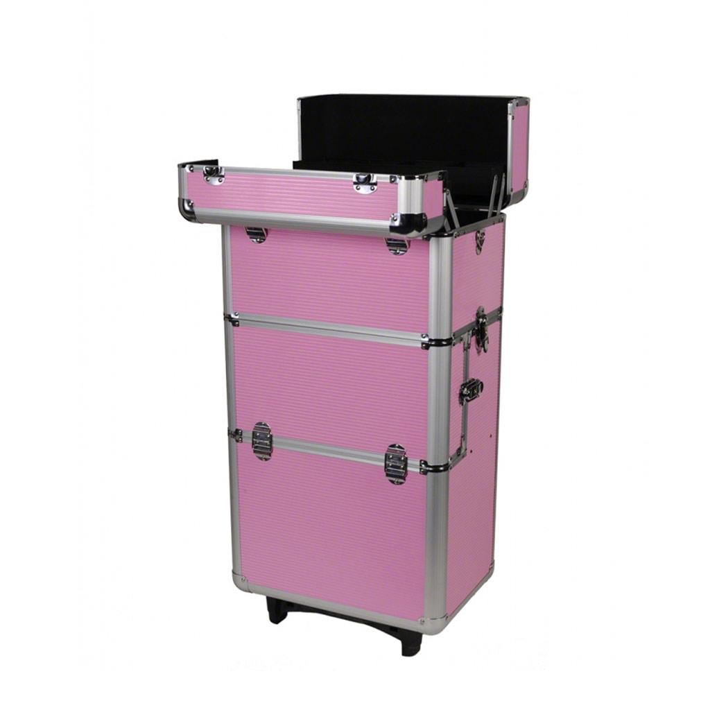 nagelstudio alu trolley pink. Black Bedroom Furniture Sets. Home Design Ideas