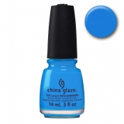 China Glaze Dj Blue My Mind - Electric Nights