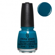 China Glaze Jagged Little Teal - Rebel Fall Collection 14ml
