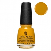 China Glaze Mustard The Courage 14ml - FW18 Ready To Wear