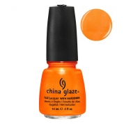 China Glaze Orange You Hot? 14ml - Summer Neons