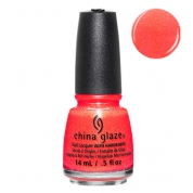 China Glaze Papa Dont Peach - Lite Brites 14ml