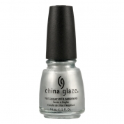 China Glaze Platinum Silver 14ml - Metallics