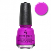 China Glaze Purple Panic 14ml - Nervy Neons Wow Factor