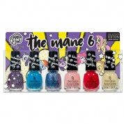 China Glaze The Mane 6 micro mini Set 6x 3.6ml - My Little Pony