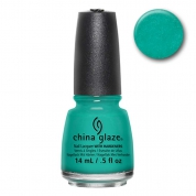 China Glaze Turned Up Turquoise 14ml - Nervy Neons Wow Factor
