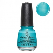 China Glaze What I LIke About Blue  - Lite Brites 14ml
