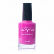 MOYOU Stamping Lack 12ml - Shocking Pink