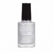 MOYOU Stamping Lack 12ml - Silver