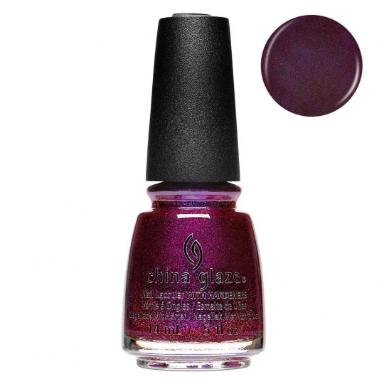 China Glaze Queen Of Sequins 14ml - Glam Finale