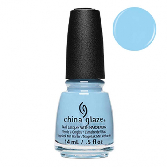 China Glaze Water-Falling In Love 14ml - Shades Of Paradise