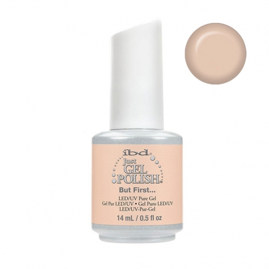 ibd Just Gel Polish - But First... - Nude 14ml