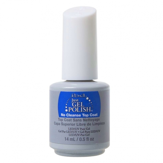ibd Just Gel Polish - No Cleanse Top Coat 14ml B-WARE