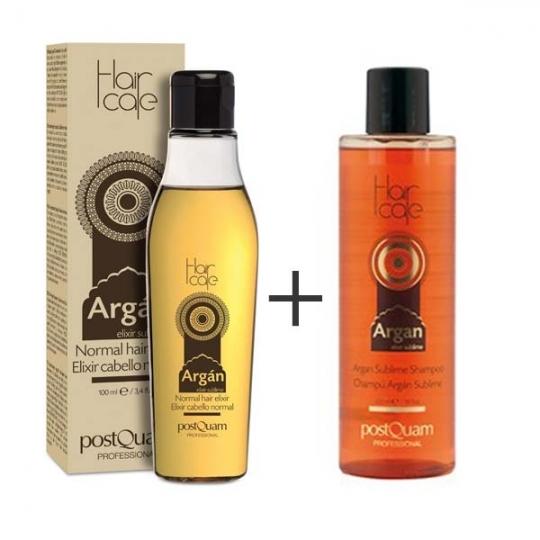 postquam argan l feines haar 100ml argan shampoo 225ml. Black Bedroom Furniture Sets. Home Design Ideas