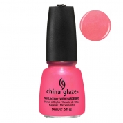China Glaze Pink Plumeria 14ml - Summer Neons