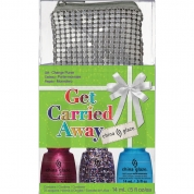 China Glaze Set - Get Carried Away - Happy Holiglaze 3x 14ml