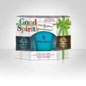 China Glaze Set - Good Spirits , 2x 14ml