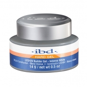 ibd LED/UV Builder Gel - Intense White 14g