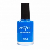 MOYOU Stamping Lack 12ml - Blue