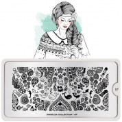 MoYou London Schablone - Doodles 07 - 134