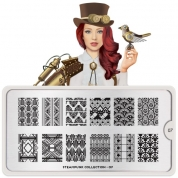 MoYou London Schablone - Steampunk 07 - 187