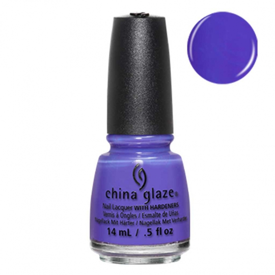 China Glaze I Got A Blue Attitude  - Lite Brites 14ml