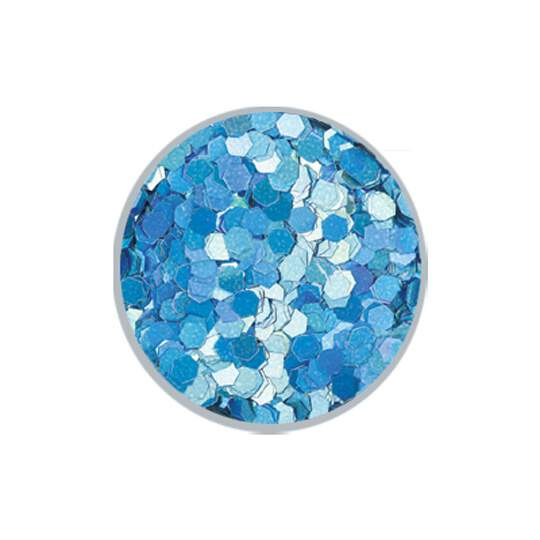 Glitter Hexagon 3mm #082 - 5g