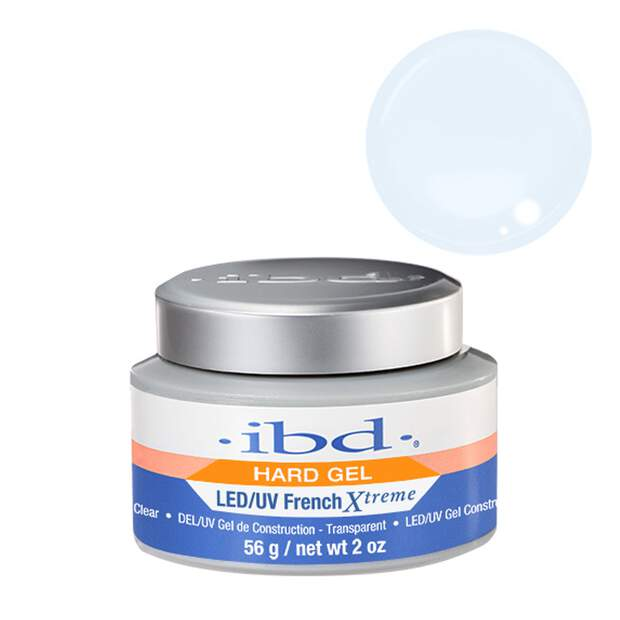 ibd LED/UV French Xtreme Builder Clear Gel 56g