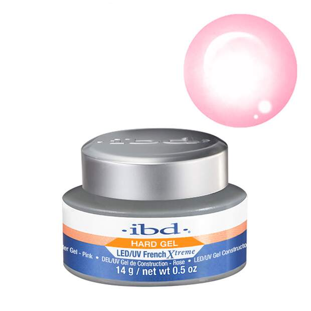 ibd LED/UV French Xtreme Pink Gel 14g