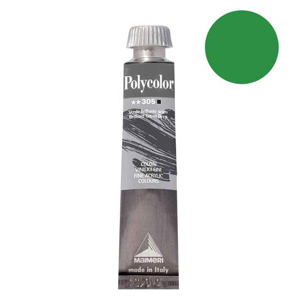 Polycolor BRILLIANT GREEN LIGHT 20ml