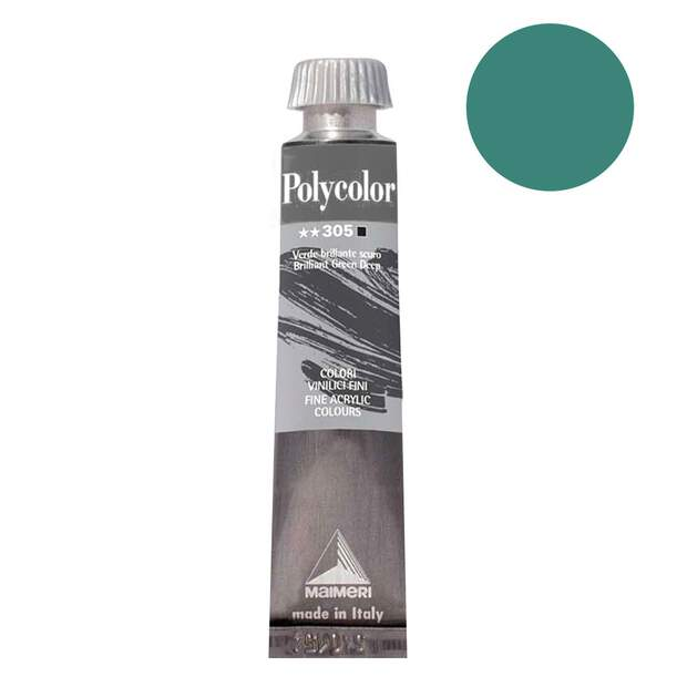 Polycolor EMERALD GREEN 20ml