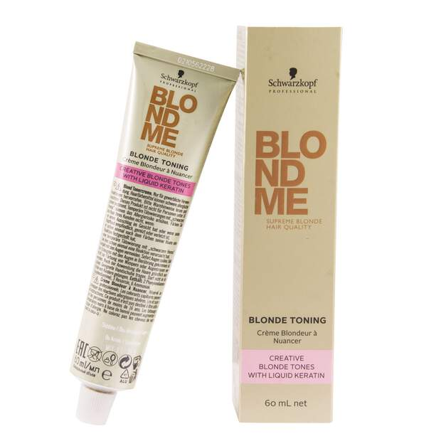 Schwarzkopf Professional Blondme Toning - Creative Blonde...