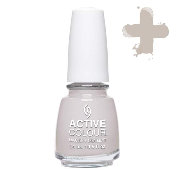 China Glaze Active Colour - Set In Greystone 14ml