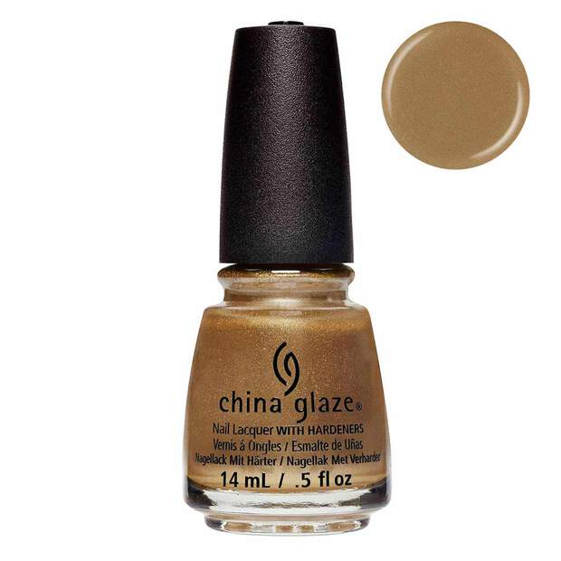China Glaze Truth Is Gold 14ml - Street Regal