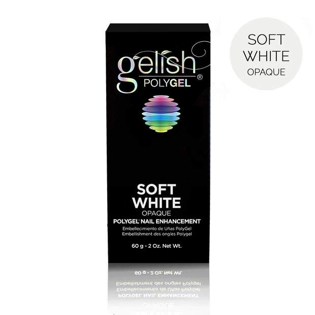 gelish Polygel - soft white 60g