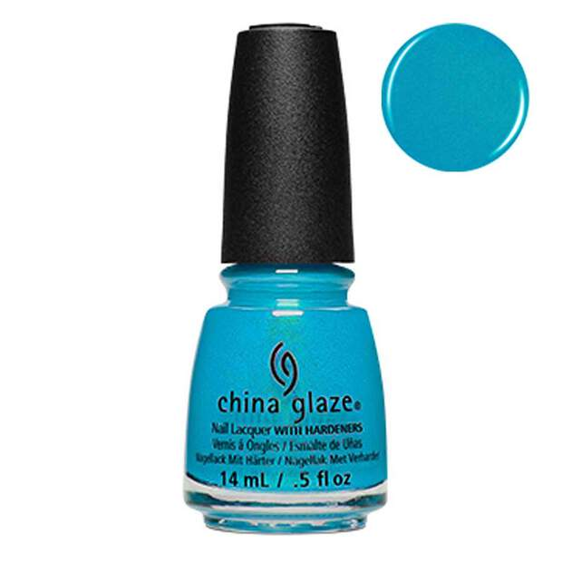 China Glaze Mer-Made For Bluer Waters 14ml - Shades Of...