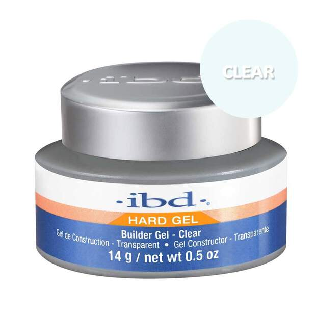 ibd Builder UV Gel - Clear 14g